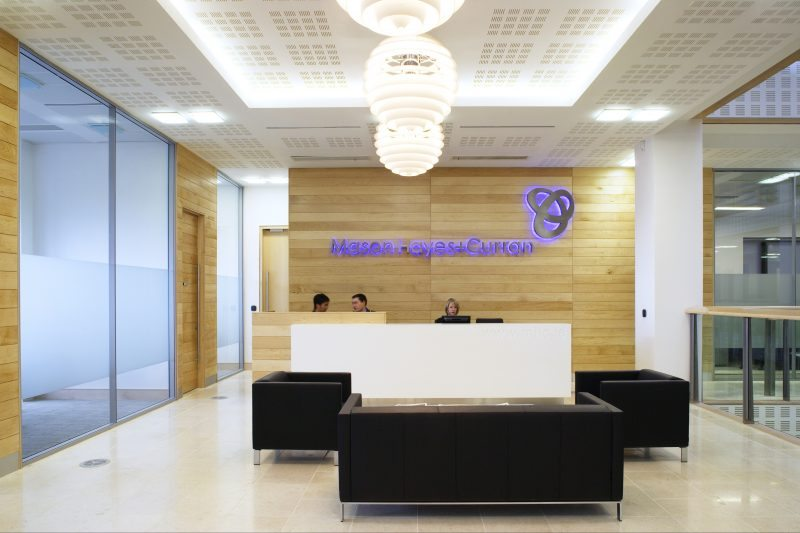 MHC Fit Out pic 01 reception