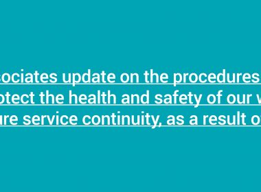 Cogent Associates Update on Procedures as a Result of COVID-19