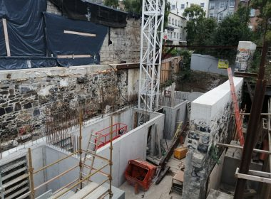 Milestone Reached on Inner City Apartment Build