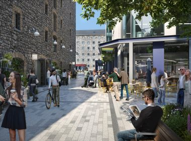 Planning Granted for Google Boland's Quay Public Realm